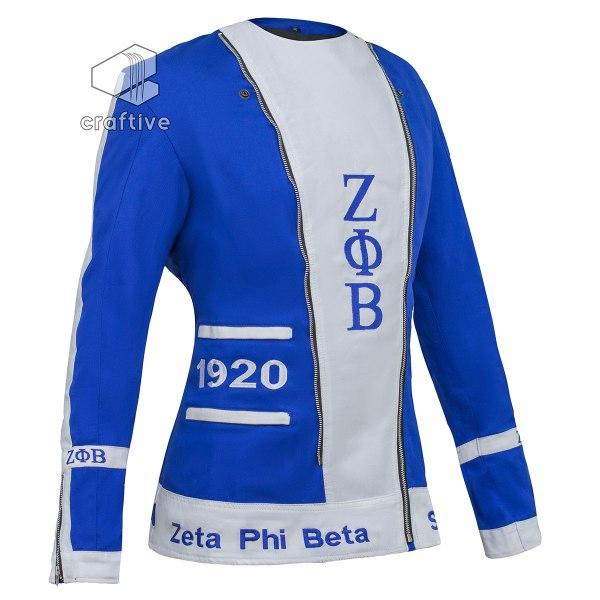 sorority jackets zeta phi beta jackets