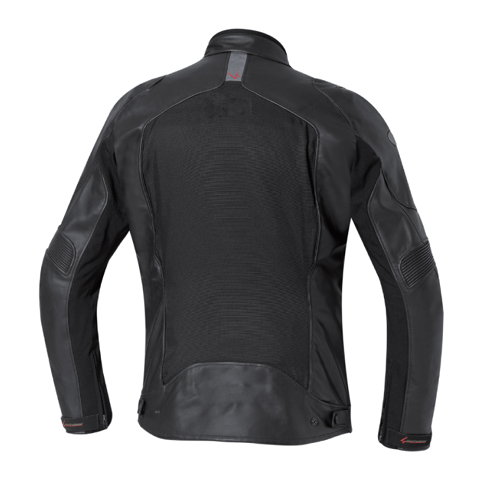 Double Layer Motorcycle Leather Jacket