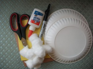 Lion Lamb Craft Supplies 300x225 Spring In Like a Lion & Out Like a Lamb Craft Project for Kids