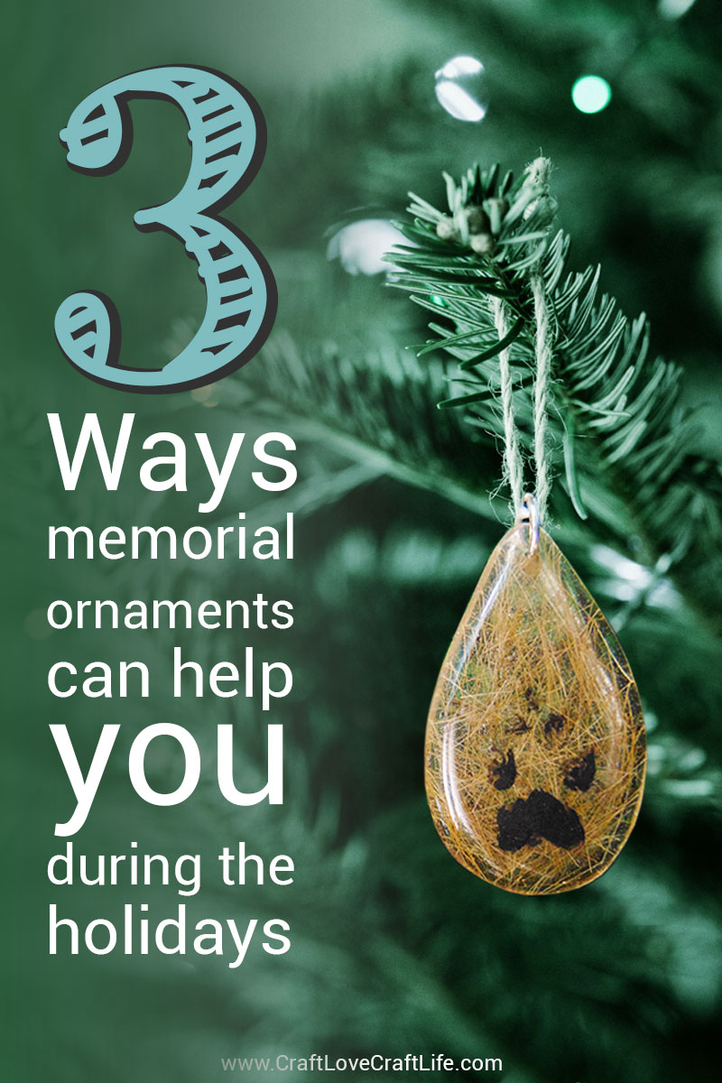 3 ways memorial ornaments can help you during the holidays