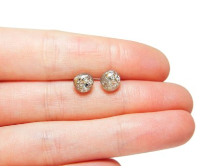 memorial stud earrings