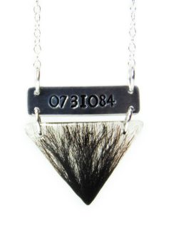 horse loss necklace