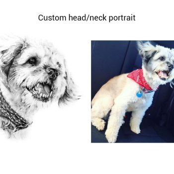 Custom Pet Portrait