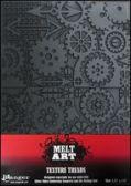 Matrita din cauciuc texturata Graphic Gears, Melt Art, Ranger