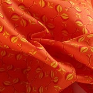 Moda Yellow Leaf Fabric Material