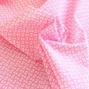 Moda Pink Bows Fabric Material