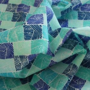 Horizon Ocean Field Fabric Material