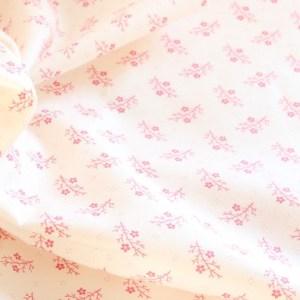 Moda Pink Leaf Fabric Material
