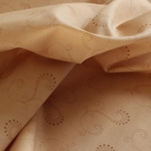 Paisley Park Tonal Tan Fabric