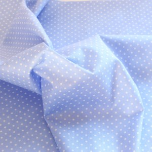 Sunshine Studio White Spots on Light Purple Fabric