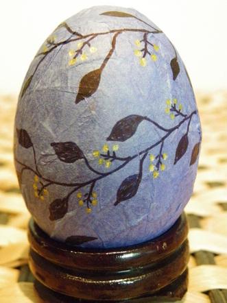 Decorated Foam Eggs