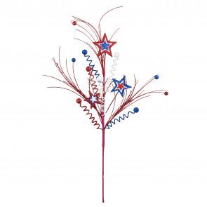 Floral Sprays & Picks: Patriotic - CraftOutlet.com