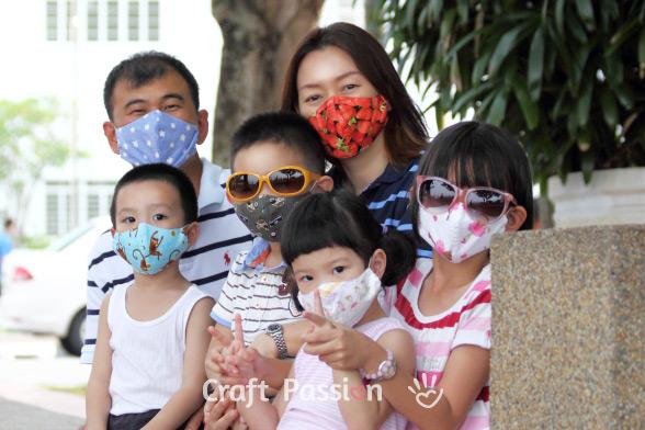 Face Mask Pattern - Free Sewing Pattern • Craft Passion