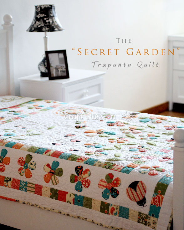 Secret Garden Quilt Pattern Free Craft Passion