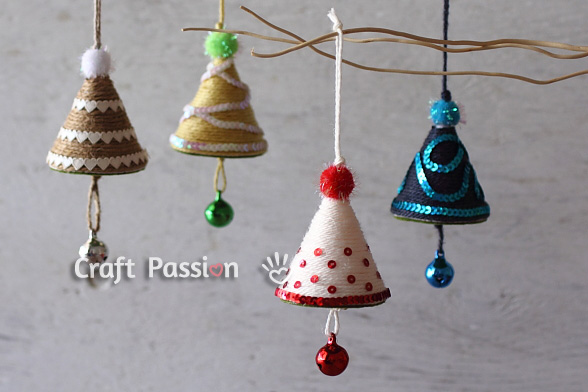 Children Christmas Tree Decorations.Christmas Tree Ornament Diy Tutorial Craft Passion