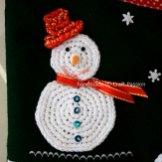 Snowman Crochet Pattern