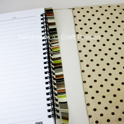Notebook Cover Tutorial Pattern