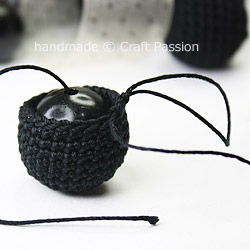How To Crochet Bead Necklace