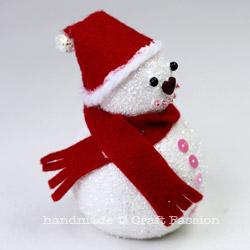 Comment faire de bonhomme de neige ornement