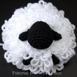 Sheep Amigurumi Loop Stitch