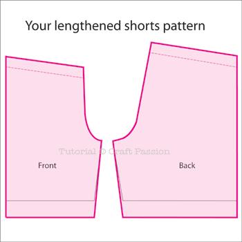 Lengthen shorts
