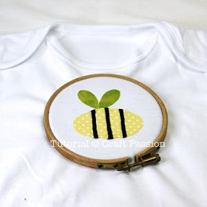 Onesie Applique Embroidery Hoop
