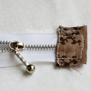 cover zipper end