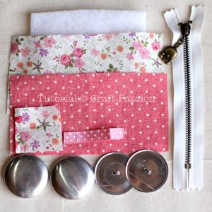 macaron purse materials
