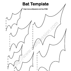 Bats Decorations