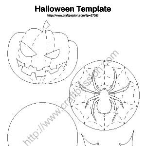 halloween-coasters-templates