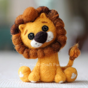 how-to-needle-felt-lion-16