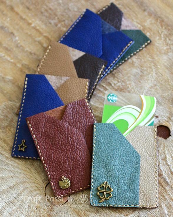 card sleeve pattern