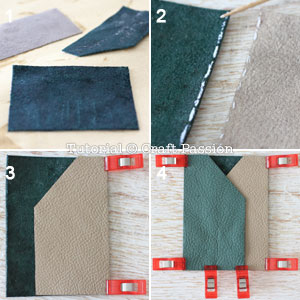 glue leather