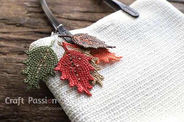 raffia yarn leaf