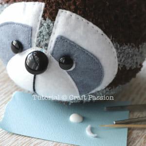 raccoon eye