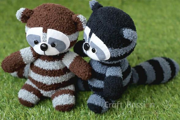 sock raccoon
