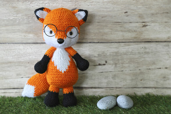 fox amigurumi crochet pattern