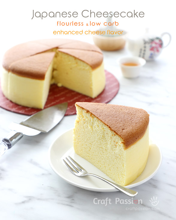 low carb japanese cheesecake