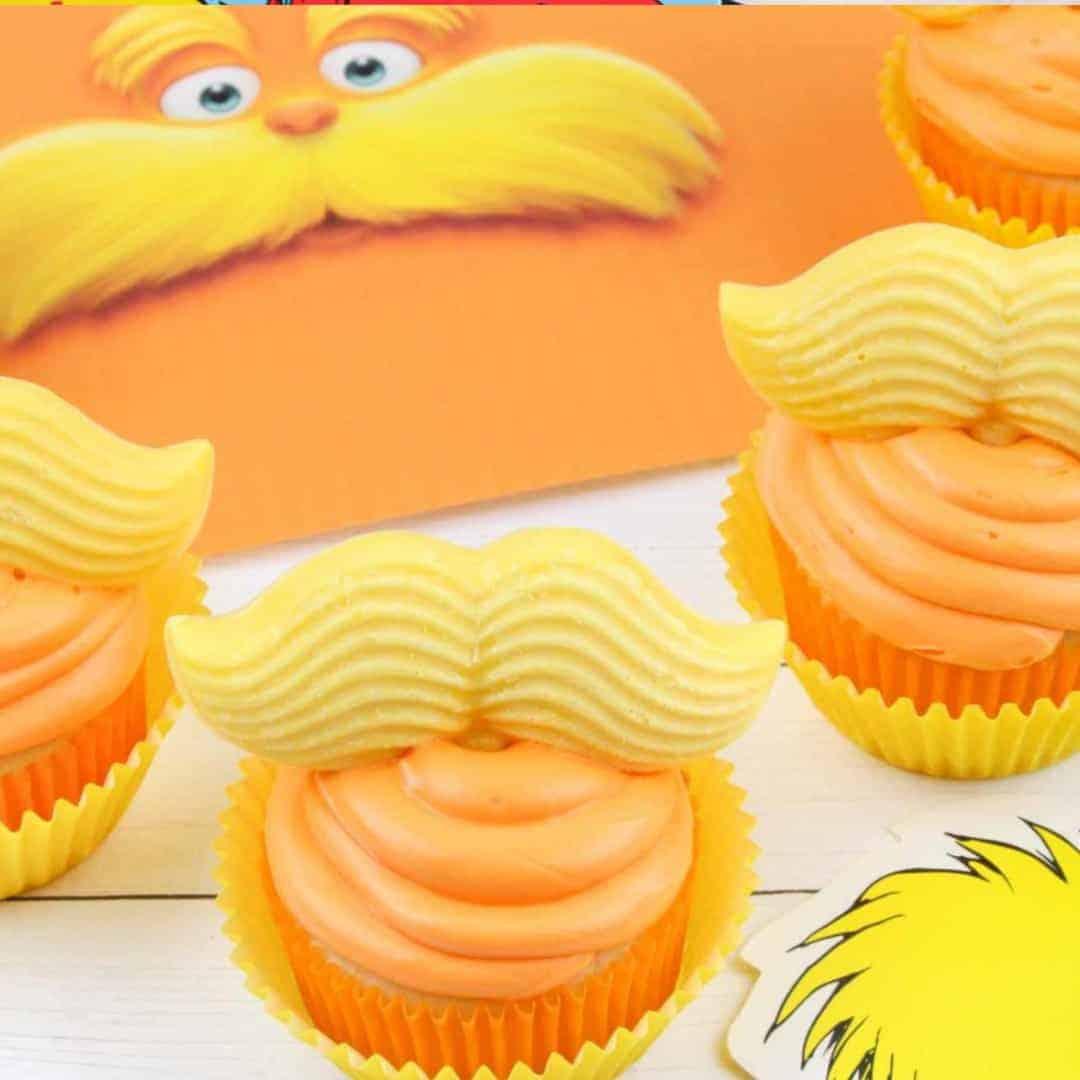 Dr Seuss The Lorax Cupcakes Recipe