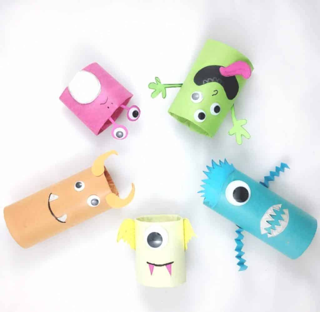 21 Sweet And Silly Monster Crafts For Kids