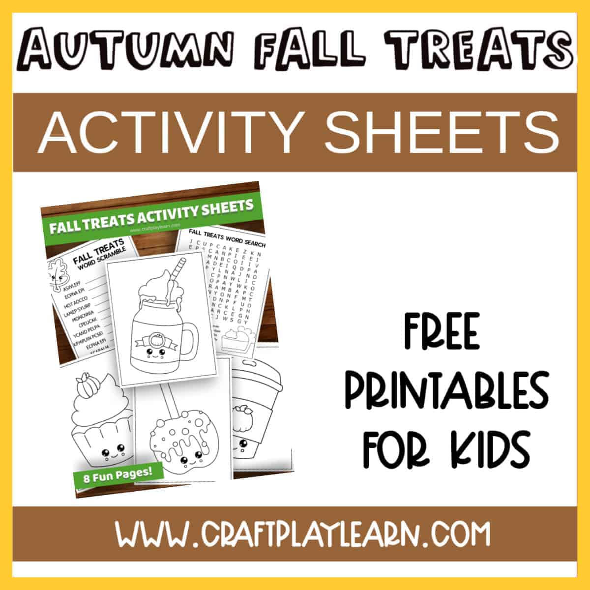Fall Activity Worksheets Free Downloads