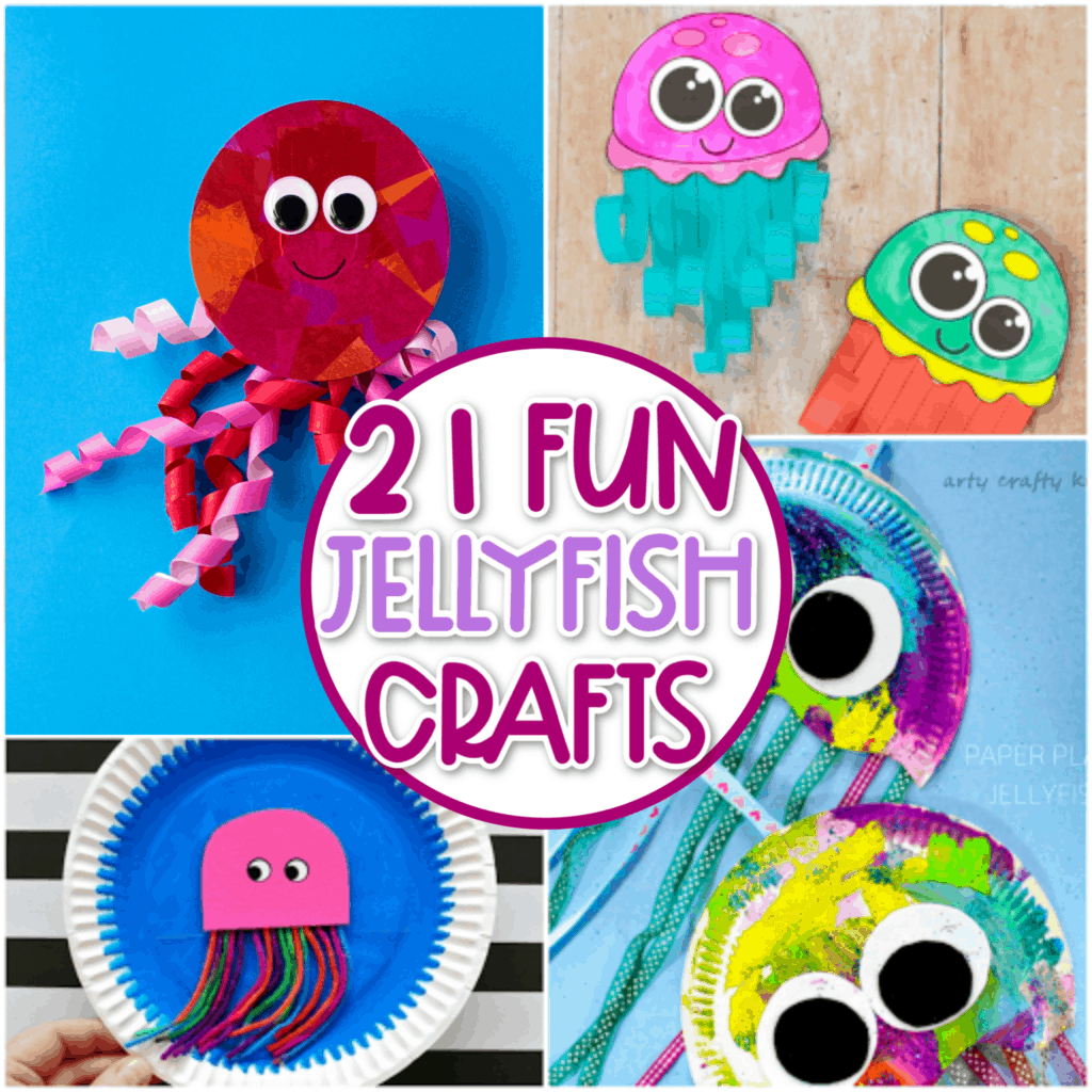 Jellyfish Craft Ideas For Kids