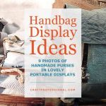 Handbag Display Ideas 9 Gorgeous Craft Booth Photos