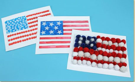 American Flag Printable Craft Project Ideas
