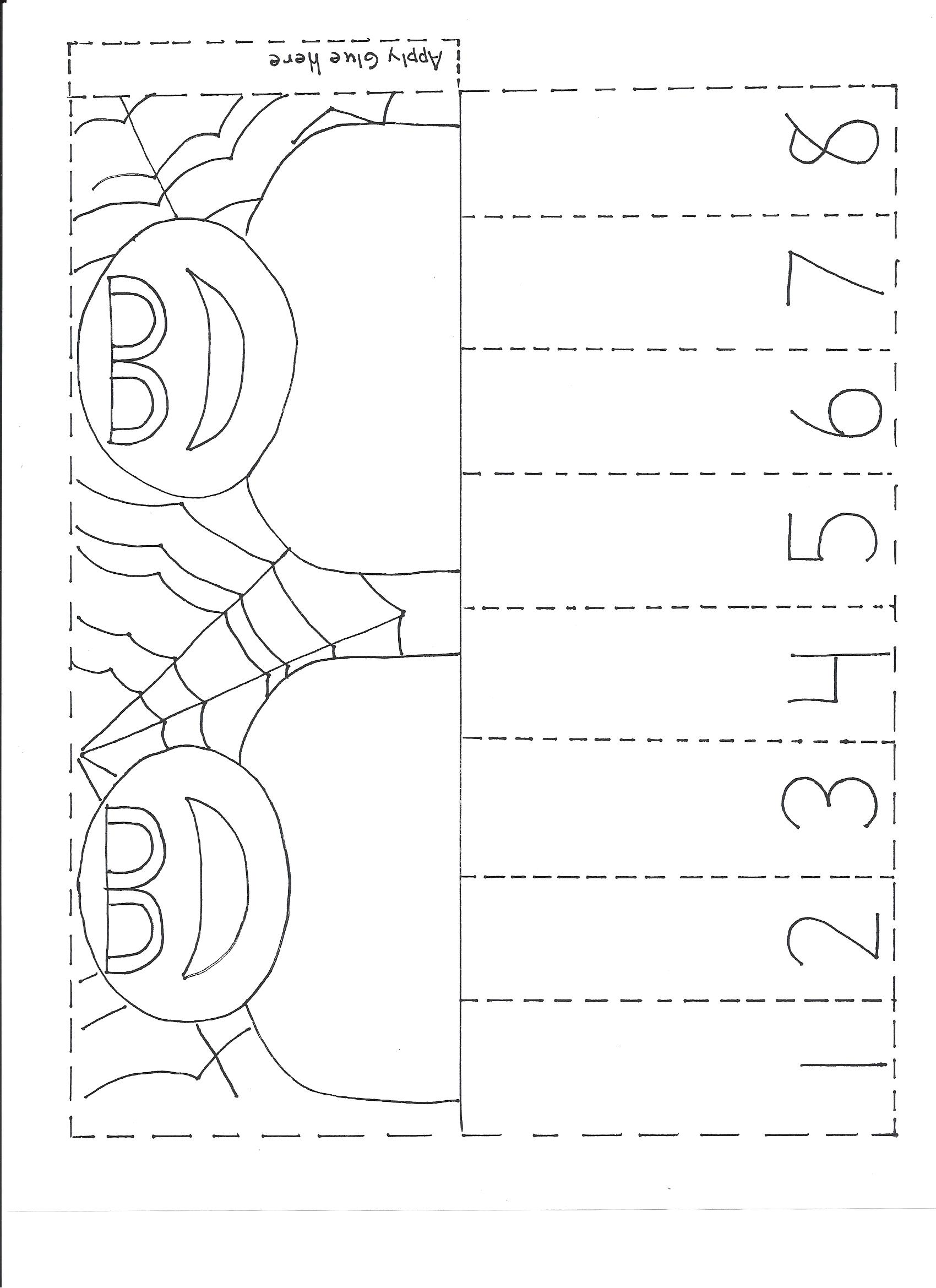 Spider Worksheets For Preschoolers