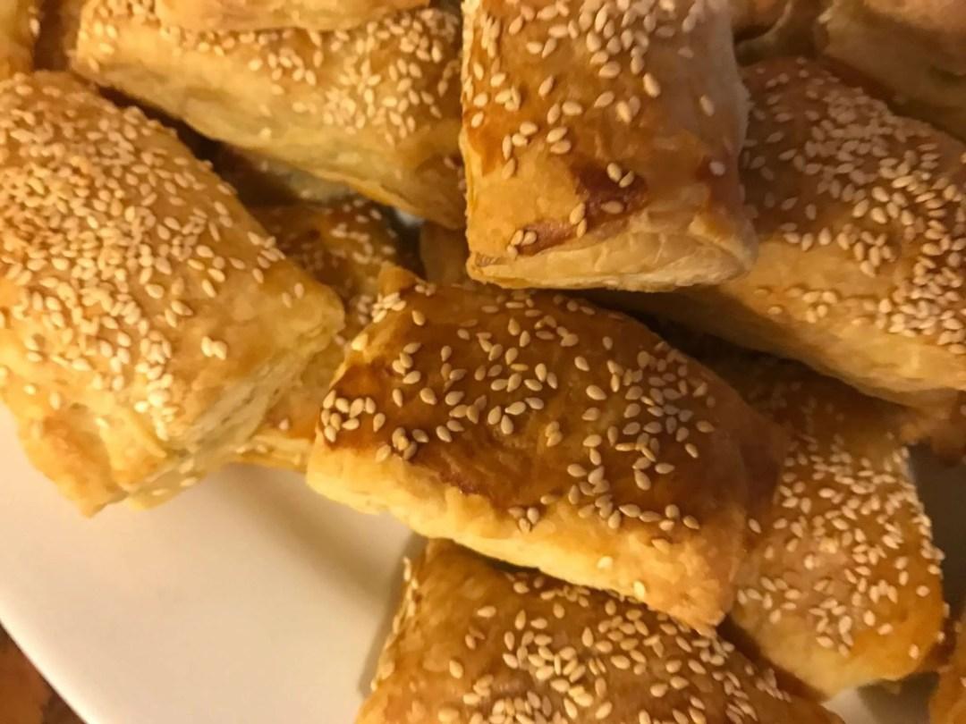 Chef Nadav- Mediterranean Cuisine sesame pastry - Craftsbury, VT