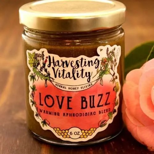 Harvesting Vitality Love Buzz: Warming Aphrodisiac Blend