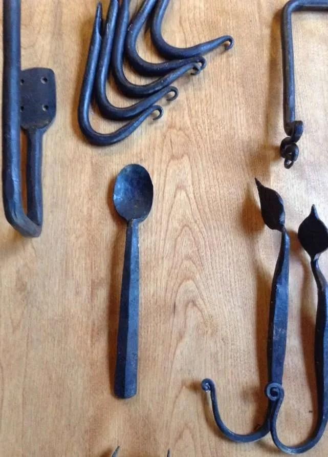 Alder Hardt Ironworks - spoons & hooks - Hardwick, VT
