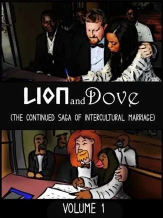 Lion-Dove-volume-1-Intercultural-Marriage-Graphic-Novel-Barney-Smith-Vermont-author