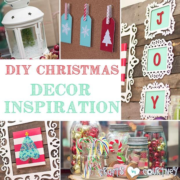 DIY Christmas Home Decor Inspiration My Home